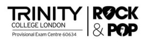logo Trinity College London rock pop music